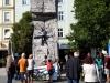 """Unser Kletterturm am Hauptplatz war ein """"Highlight"""" am Stadtfest, speziell für die Jugend."""
