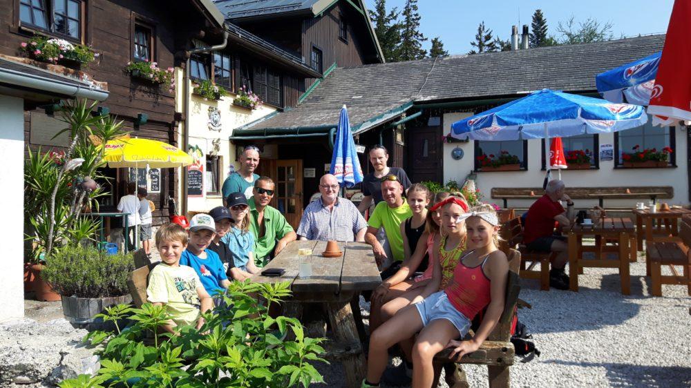 Bei der Wilhelm Eichert-Hütte