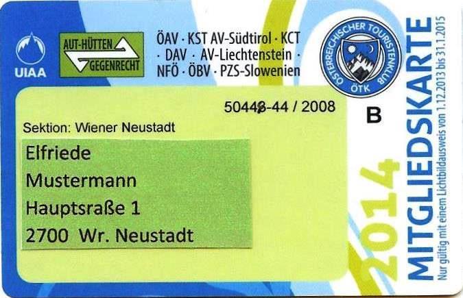 Ausweis 2014